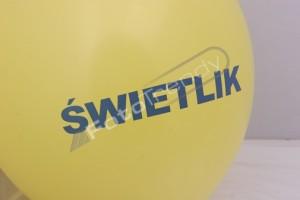 Balony reklamowe na terenie castoramy