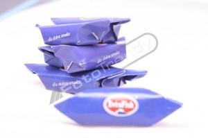 Słodycze reklamowe z niezbędnym nadrukiem